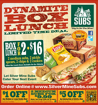 Silver Mine Subs Promotion