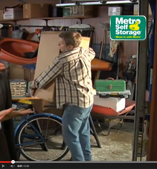 Metro Self Storage TV Spot